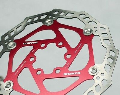 JAPAN STEEL DISC BRAKE ROTOR SUIT AVID HAYES SHIMANO PROMAX 203MM 6 BOLT 8/""