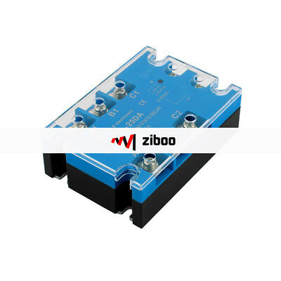 TSR-25DA Three Phase Solid State Relay Module DC to AC 3-32VDC to 480VAC 25A