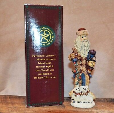 "Boyds Bears Folkstone ""St. Nick...The Quest"" #2808 Retired 8th Ed - MIB"