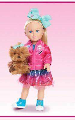 My Life As JoJo Siwa 18 Inch Doll With Her Dog Walmart Exclusive New In Box