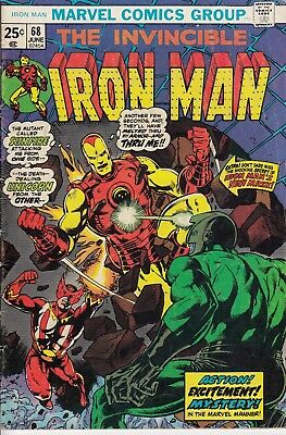 Iron Man #68 (Jun 1974, Marvel) Comic Book