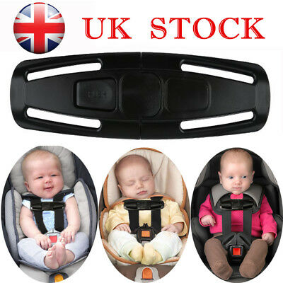 Baby Kids Car Safety Seat Strap Belt Lock Tite Tight Harness Clip Safe Buckle