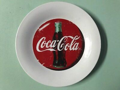 Lot of 6 Vintage 1996 Coca Cola Plates,Bowl by Gibson Glass Collectible Ceramic