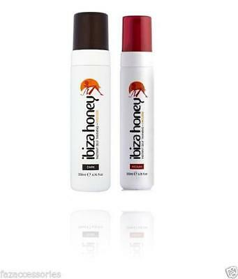 ibiza Instant Self Tanning MOUSSE fake Tan The BEST choose Colour 200ML
