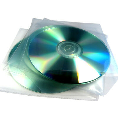 Generic PVC CD Sleeve with Flap - (Pack of 100)