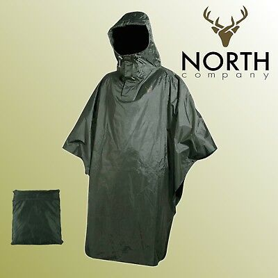 ██▓▒░ NORTH Wind Regenschutz Poncho Jagd Angelsport Outdoor Bereich