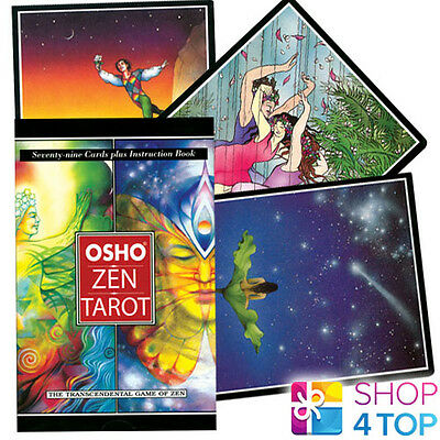 Osho Zen Tarot Deck Cards Book Set Esoteric Telling Us Games Systems New