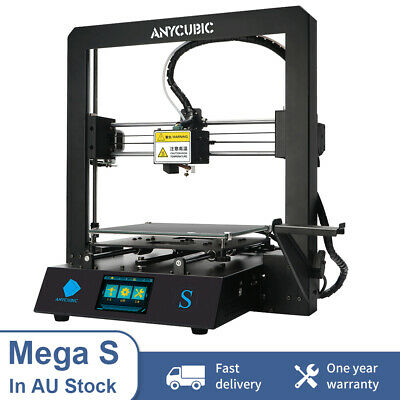 Anycubic 3D Printer I3 Mega Upgrade DIY Large Size Metal Frame PLA TFT AU