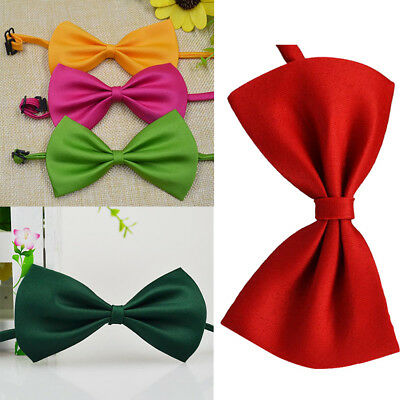 Hot Handsome Baby Boy Child Infant Solid Color Wedding Tuxedo Bowties Bow Tie UK
