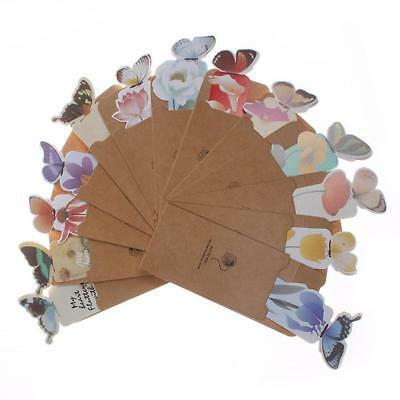 5pcs Cute Butterfly Shaped Bookmark Books Accessories Book Marks Stationery