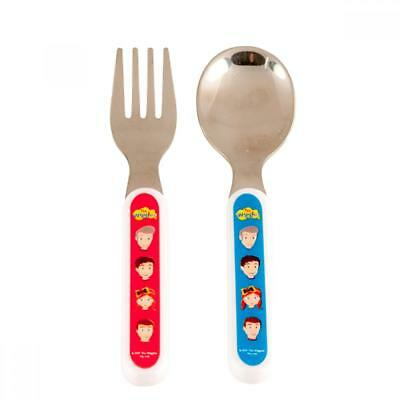 NEW The Wiggles Fork & Spoon Childrens Cutlery Set