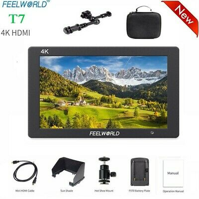 """FeelworldT7On-Camera Monitor7"""" IPS 4K HDMI Full HD 1920x1200 for Camera Video"""