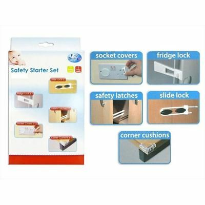 16 Piece baby Safety Starter Set Kit Toddlers Child Proof Protectors Home Safety
