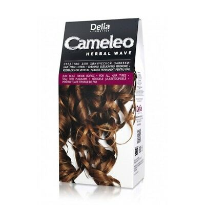 Delia® Natural Herbal Wave Hair Perm Lotion - Gentle Tick Waves or Tight Curls!