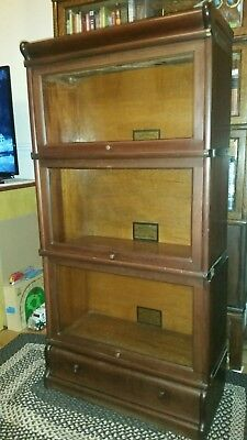 Antique 3/4 Globe Wernicke Lawyers Bookcase