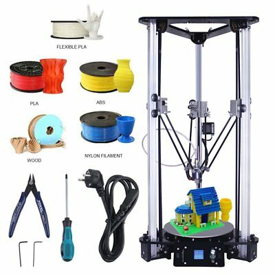 EZT Kossel Plus Linear 3D Drucker Bausatz Printer RepRap DIY Industrielle Neu
