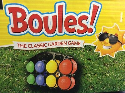 Deluxe boules ball set in carry frame