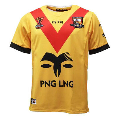 New 2017 RWC Papua New Guinea Rugby Jersey Men