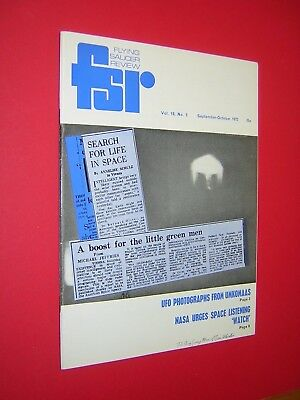 FLYING SAUCER REVIEW. FSR. SEPTEMBER-OCTOBER 1972. VOL.18 No.5