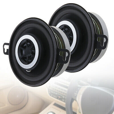3.5'' inch 200W 4Ω 10cm 2-Way Car Horn Audio Coaxial Speaker Full Frequency PAIR
