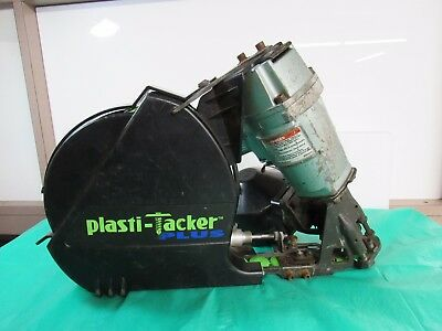 "Hitachi (NV-50AP2) - 2"" Air Coil Nailer w/ Plasti-Tacker Plus Cap"