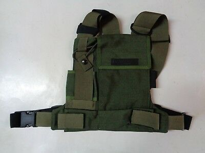 NEW Conterra Tool Chest Radio Harness OD Military Green