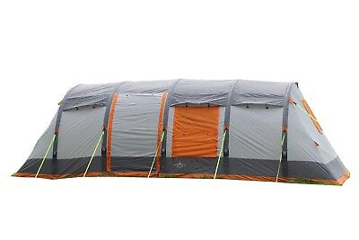 8 Berth Inflatable Family Camping Campervan Tent - Olpro Wichenford Breeze