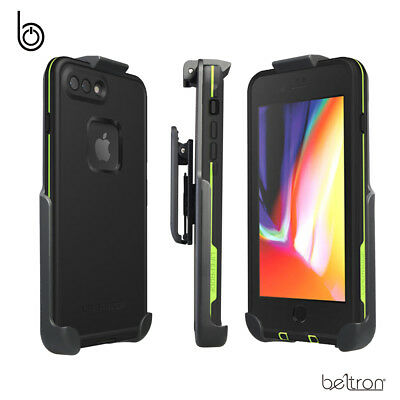 "Belt Clip Holster for LifeProof FRE - iPhone 8 Plus 5.5"" w/ Built-In Kickstand"