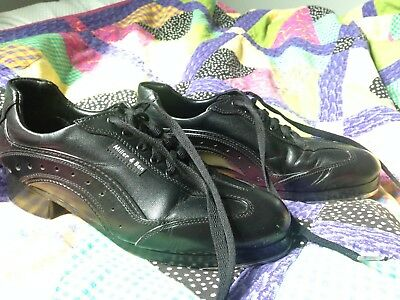 Miller and Ben Black SporTap Shoe W Size 39 -Gently Used