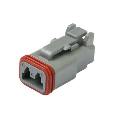 DEUTSCH DT06-2S DT Series 2-Way Plug