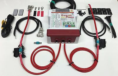 Sterling Power BB1260 12v 60amp Battery to Battery charger system Euro5/6 Camper