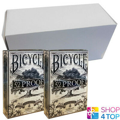 12 Decks Ellusionist 52 Proof Prohibition V2 Playing Cards Sealed Box Case Uspcc