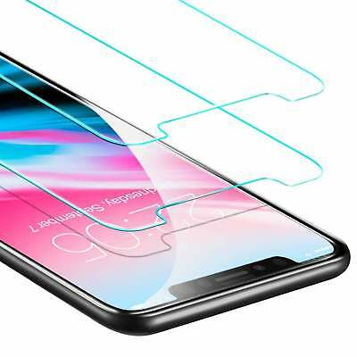 Real HD Front Tempered Glass Temper Glass Protector For Apple iPhone X 10 Phone
