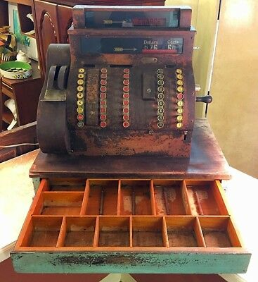 Antique Cash Register by The National Cash Register Company