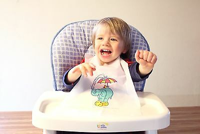 Disposable Kid's Kritters Bibs Case Of 500 Plastic Free Shipping