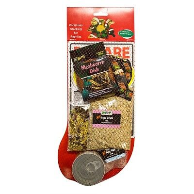 Christmas Stocking For Reptiles: Beardie, Crested/leopard Geckos, Turtle, Tortoi
