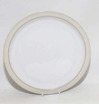 Denby Pottery Natural Canvas Pattern Dinner Plate 26.5cm Dia made in Stoneware
