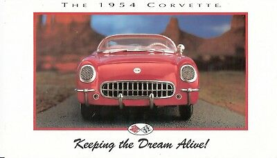 Franklin Mint 1:24 1954 Corvette Roadster  Brochure