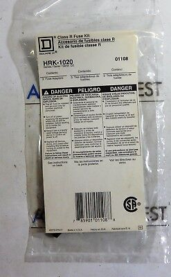 HRK-1020 SQUARE D Class R FUSE Kit for 100A + 200A switches HRK1020  -1 KIT