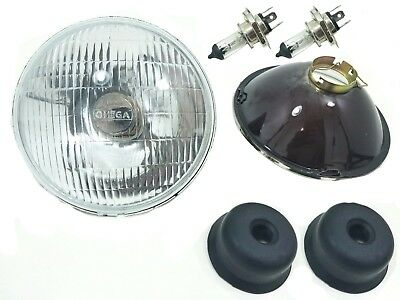 "H4 Headlight Conversion 7"" Set Fits VW Bug Bus Ghia Thing H4  HEADLIGHT KIT"