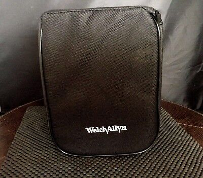 Black Welch Allyn Sphygmomanometer Case Pn400795/Laryngosope/Zippered  Kp