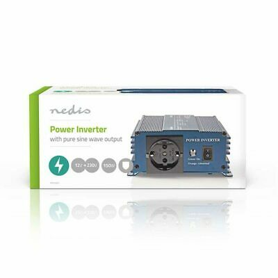 Power Inverter Onda Sinusoidale Pura 12 VDC AC 230 V 150 W F