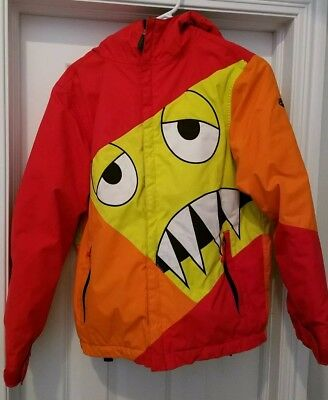 Youth 686 Snaggletooth Snowboard Jacket Large