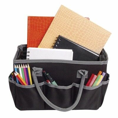 Artists Loft Fundamentals Art Organizer Storage Black Tote Bag