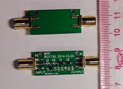 New 10M 10MHz BPF Band-pass filter Low insertion loss