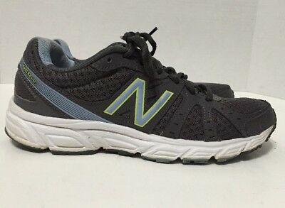 New Balance W450BS2 Womens Charcoal/Light Blue 450v2 Running Shoes Size 6.5