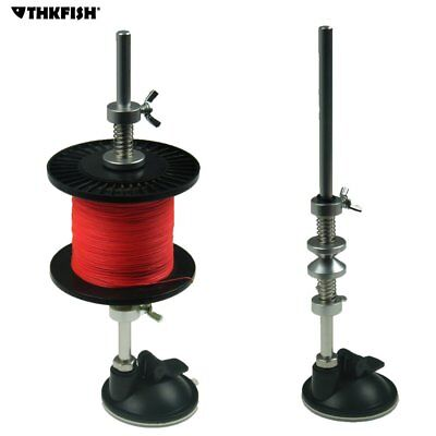 Fishing Line Winder Reel Spool Spooler System Suction Cup Fishing Line Spooler