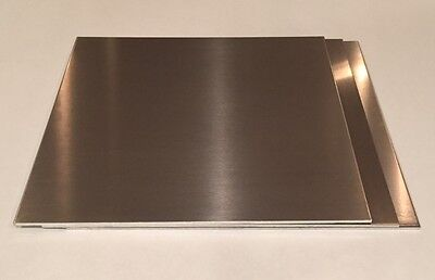 "3 Pieces - 1/8"" .125"" Aluminum Sheet Plate 12"" x 12"" 5052 - Save when you buy 3!"