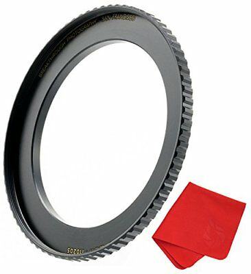 Breakthrough Photography 67mm to 77mm Step-Up Lens Adapter Ring For Filters, Mad