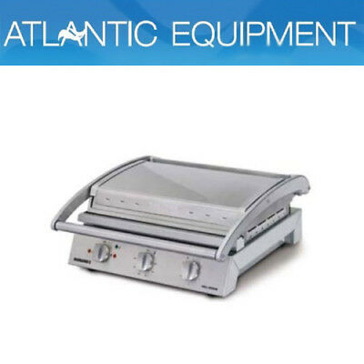 Roband GSA815RT Grill Station, 8 slice ribbed top plate non-stick coated
